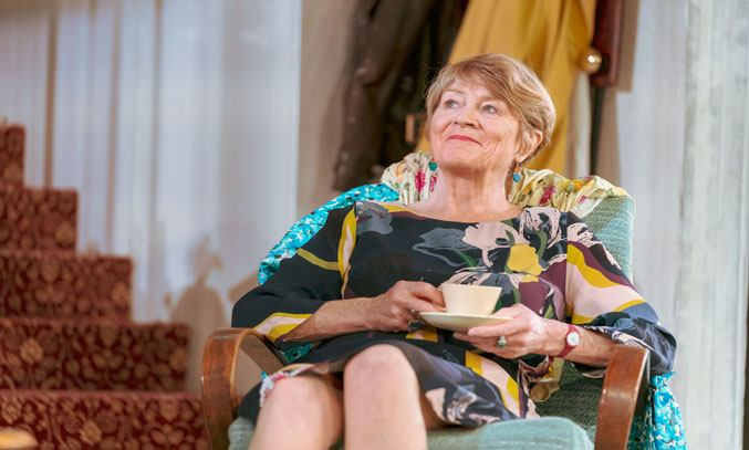Susan Brown as Sylvia in HOME, I'M DARLING