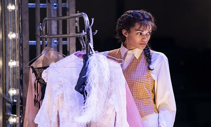 Melissa James as Louise in GYPSY