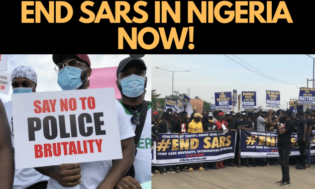 END SARS NOW! NIGERIANS NATIONWIDE PROTEST AGAINST SARS