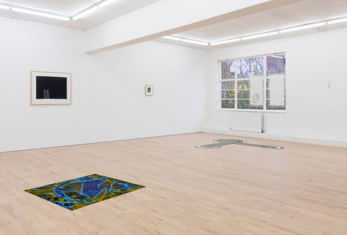 Assorted Paper, installation view, The Sunday Painter