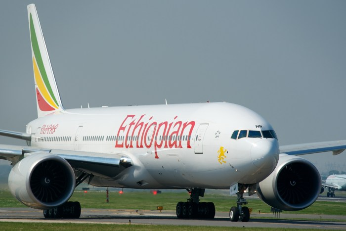 Ethiopian Airlines to Addis