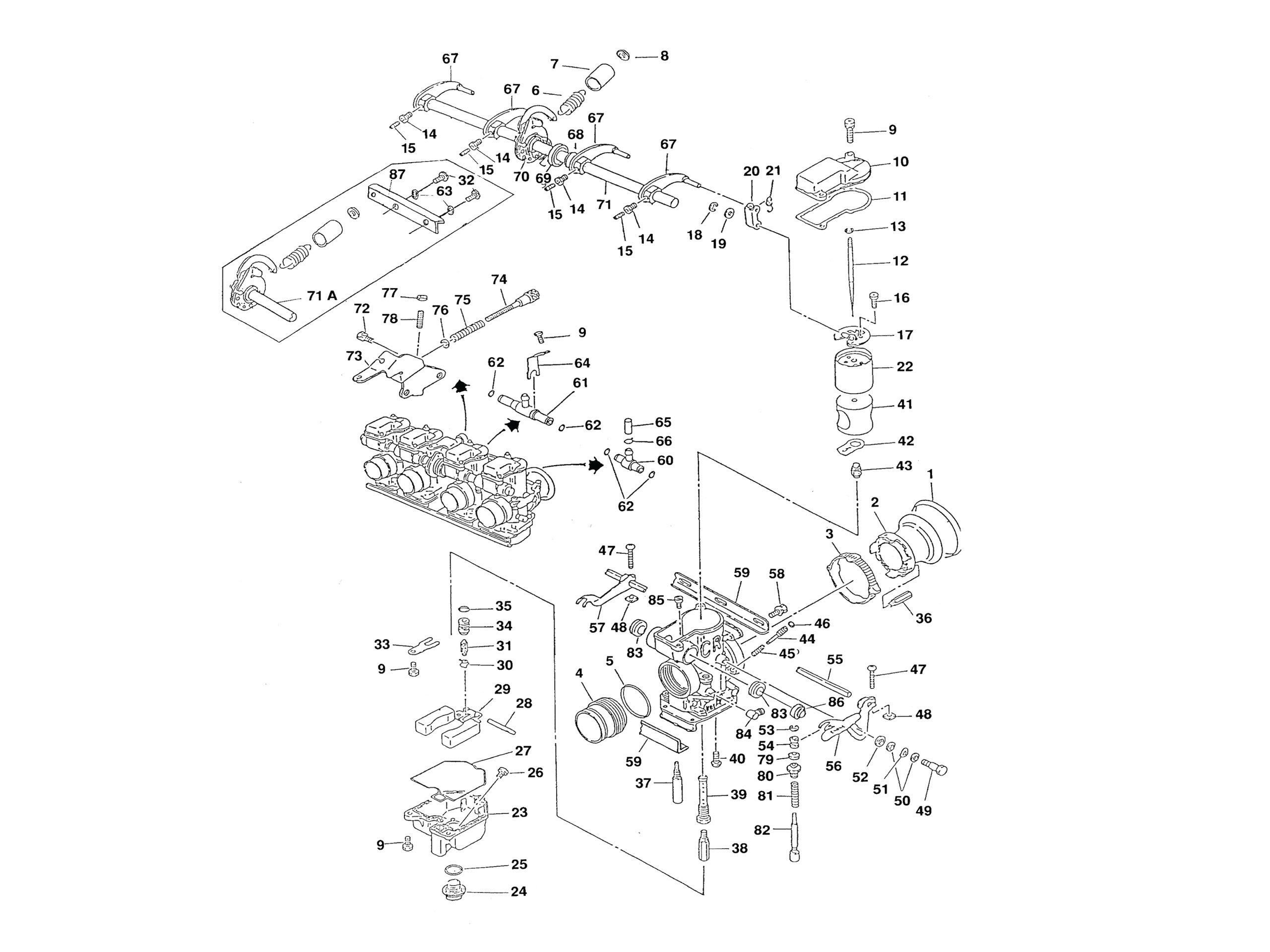 Quadrajet Carburetor Rebuild Diagram