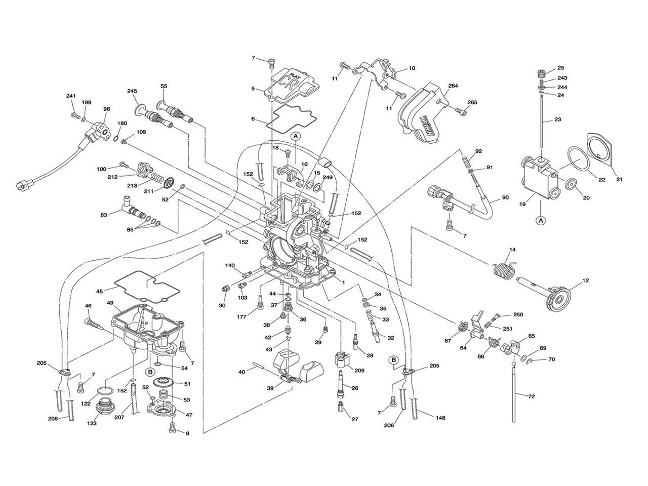 Keihin Carburetor Schematic