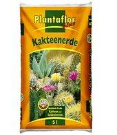 Plantaflor plus Kakteen-Erde 5 Liter,1 Sack