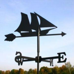 SvenskaV Wetterfahne Segelschiff klein