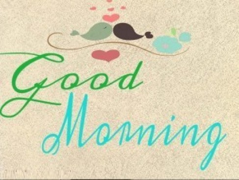 new morning sms