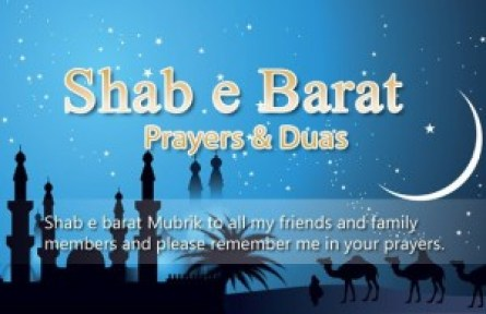 Shab-e-Barat Greetings for 2016