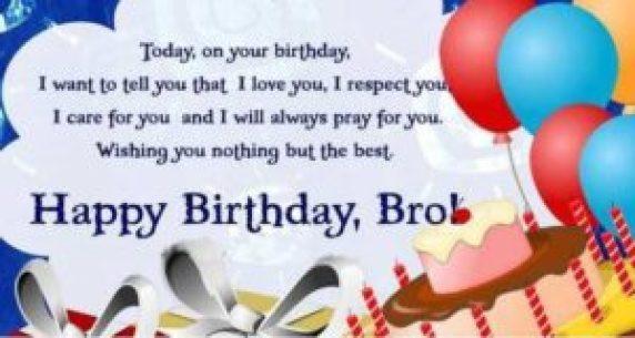 33 Amazing Brother Birthday SMS 2016