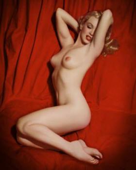 marilyn monroe nude  photo