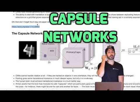 Capsule Networks: An Improvement to Convolutional Networks