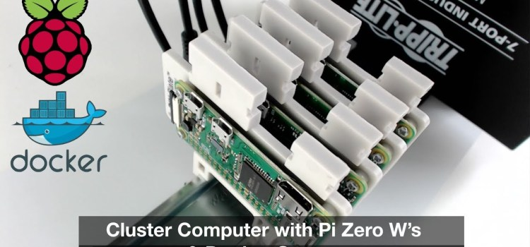 Make a Cluster Computer with Raspberry Pi Zero's & Docker Swarm Mode
