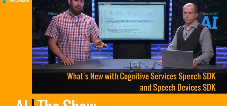 What's New in the Cognitive Services Speech and Speech Devices SDKs