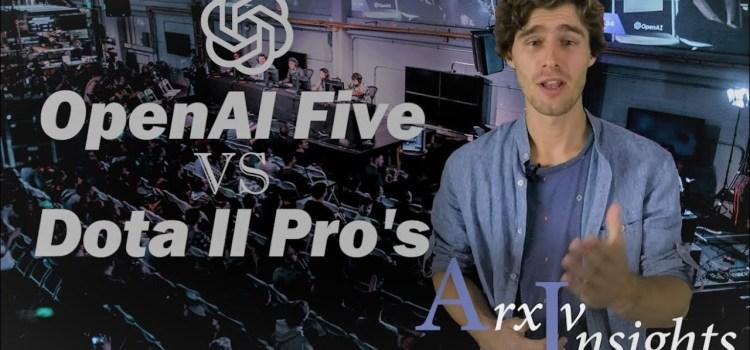 OpenAI Five: Beating Human Professionals in Dota II