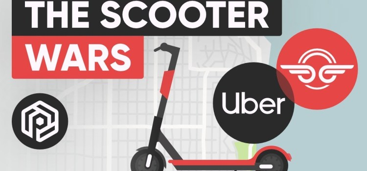 Why Scooter Startups Are Worth Billions
