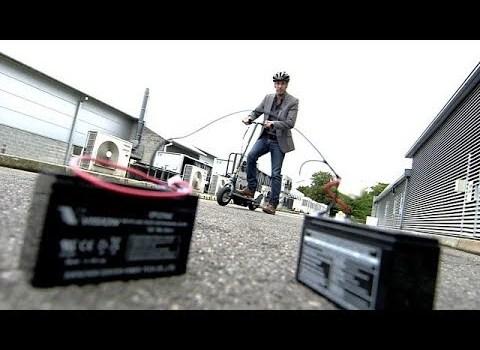 BBC Click Explores Battery Technology