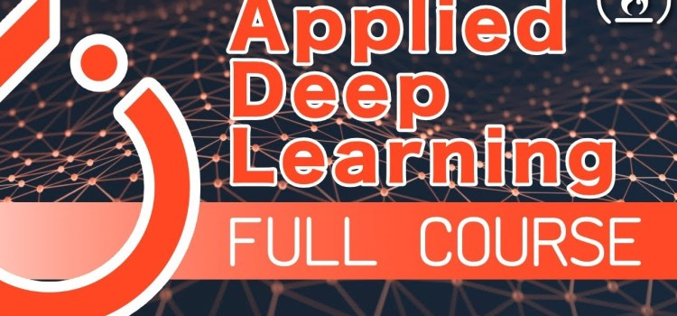 Applied Deep Learning with PyTorch (Full Course)