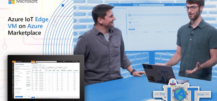 Azure IoT Edge VM on Azure Marketplace