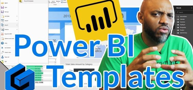 Create a Power BI Template file in Power BI Desktop