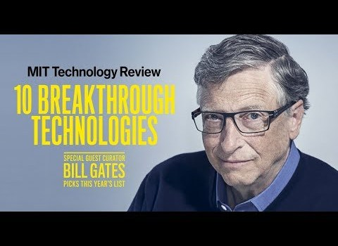Q&A with Bill Gates on 2019 Breakthrough Technology