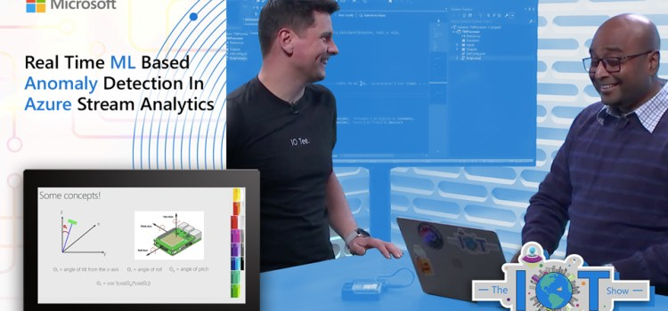 Real-Time ML Based Anomaly Detection In Azure Stream Analytics