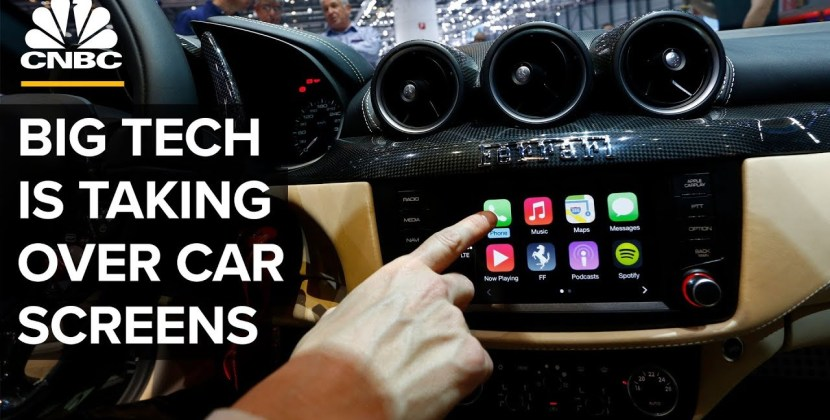 Why Google, Amazon, And Apple Are In Your Car