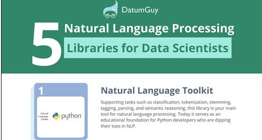 5 Natural Language Processing Libraries