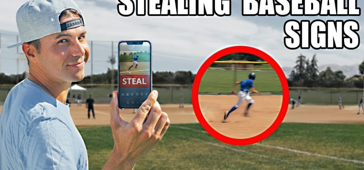 Using a Phone and ML to Steal Baseball Signs