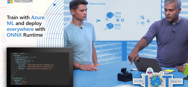 Train with Azure ML and deploy everywhere with ONNX Runtime