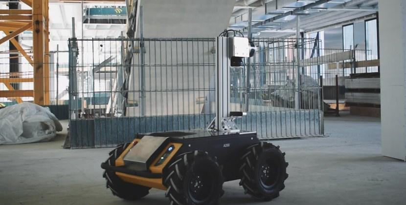 Digital Transformation of Construction Sites with Robotics
