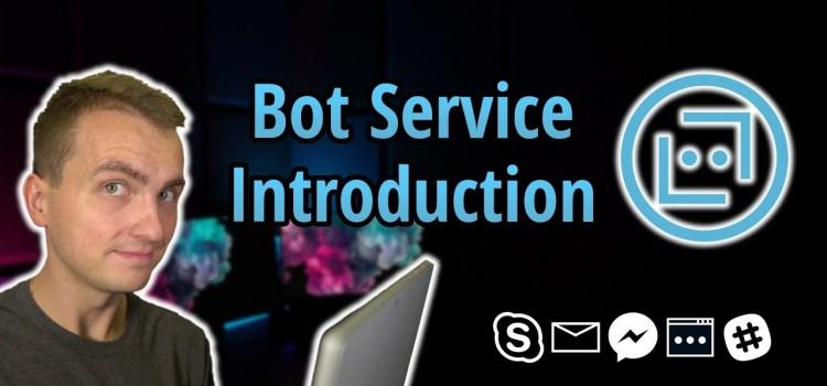 Azure Bot Service Introduction