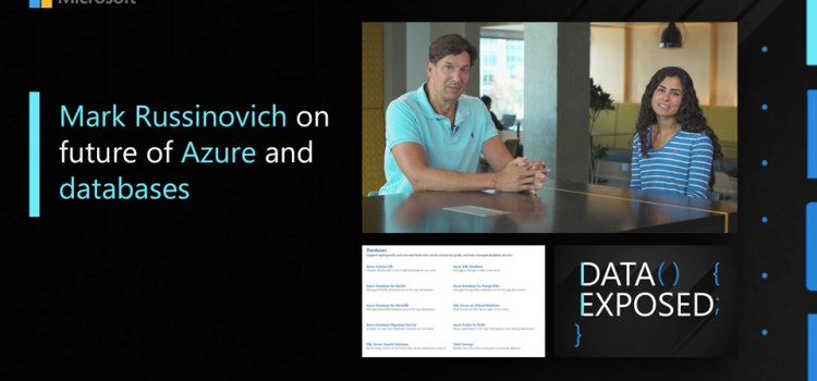 Mark Russinovich on the Future of Azure and Databases