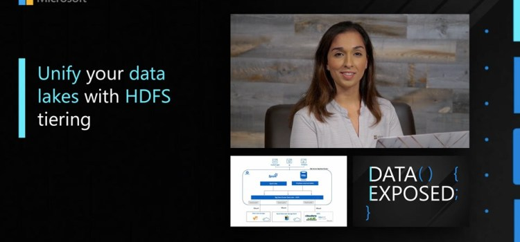 Unify Your Data Lakes with HDFS Tiering