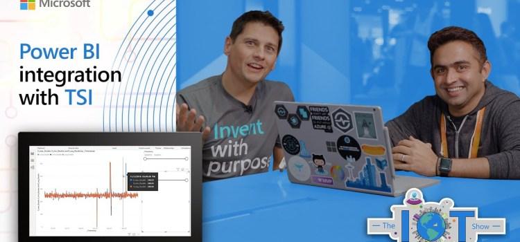Power BI integration with TSI