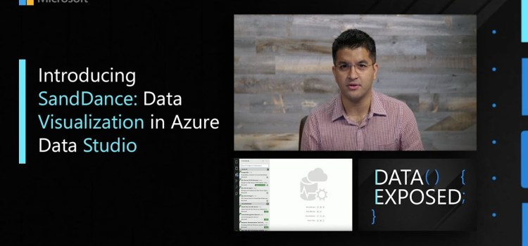 Introducing SandDance: Data Visualization in Azure Data Studio