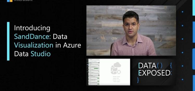 Introducing SandDance: Data Visualization in Azure Data Studio