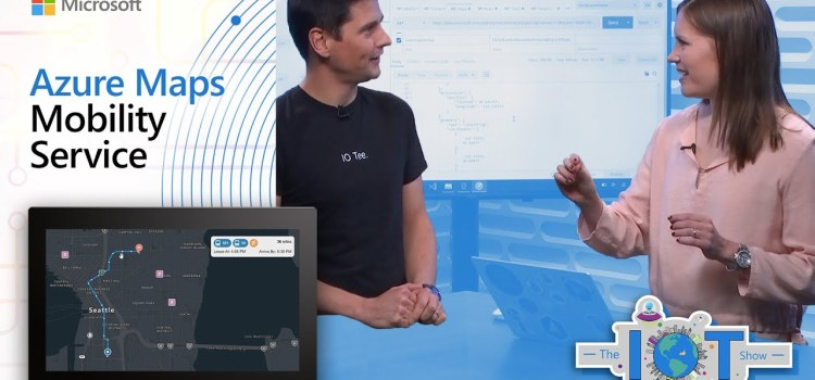 Azure Maps Mobility Services