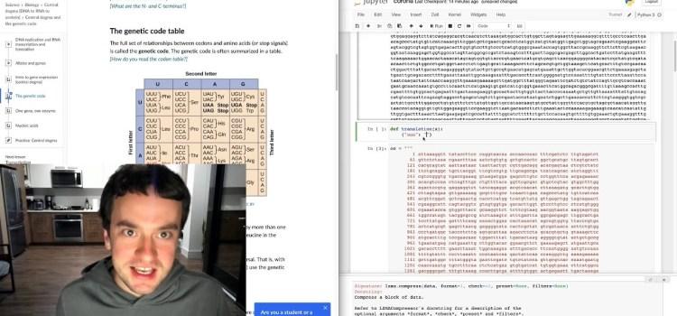 George Hotz Live Codes Doing Coronavirus Science