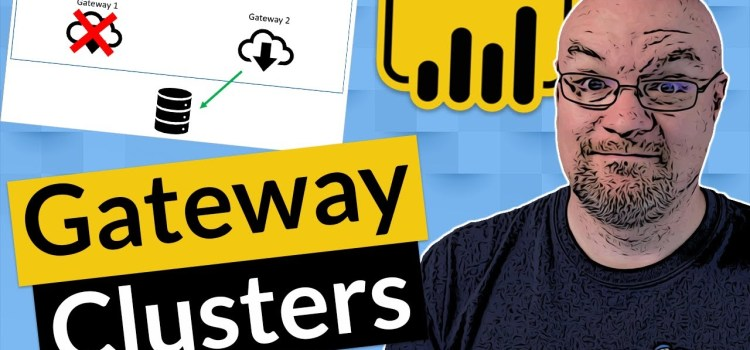What is a Power BI Gateway Cluster?