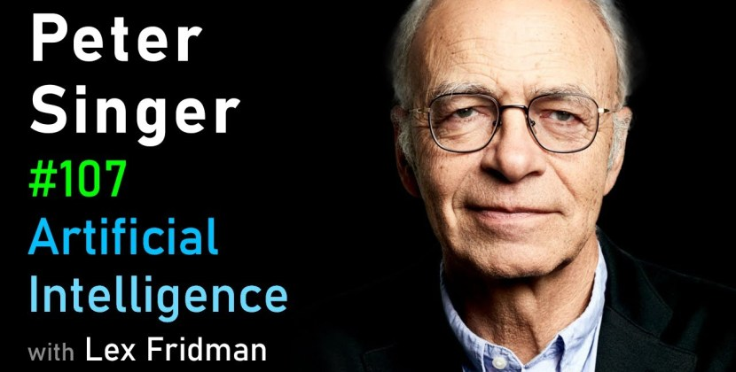 Peter Singer on Suffering in Humans, Animals, and AI