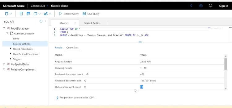 How to Troubleshoot Queries in Azure Cosmos DB