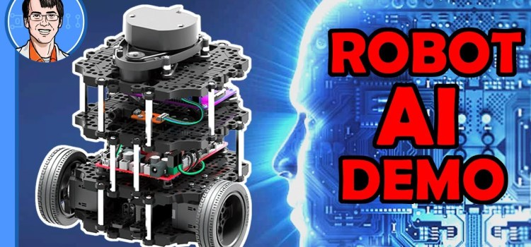 Robot AI Demo – NVidia Deep Learning, ROS Navigation, Raspberry Pi