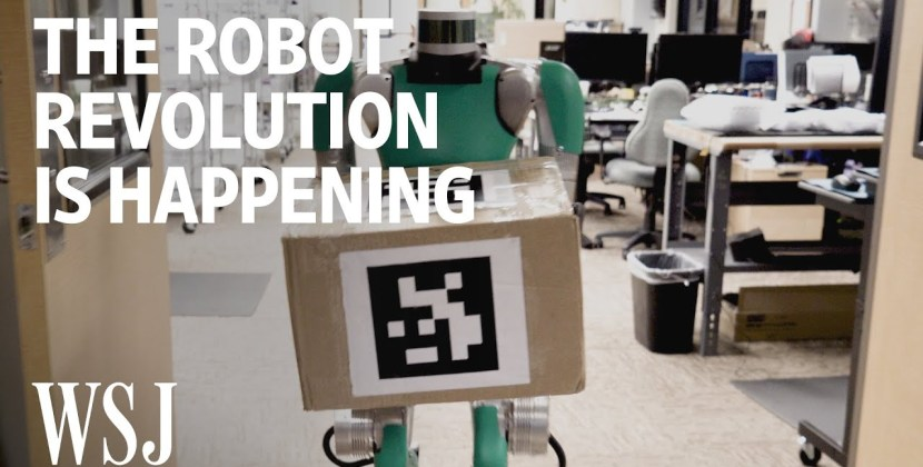 The Robot Revolution Is Happening-Like It or Not