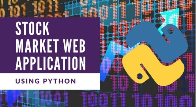 Build an AI Stock Web Application with Python