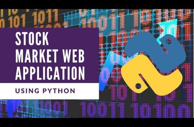 Build an AI Stock Web Application with Python