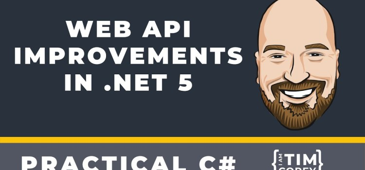 WebAPI Improvements in .NET 5 – OpenAPI, Better F5, and NSwag