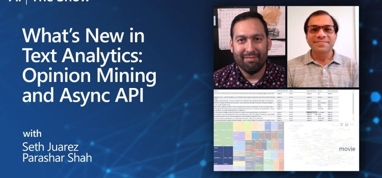 What's New in Text Analytics