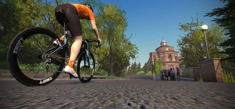Zwift, 2021 And Google DeepDream