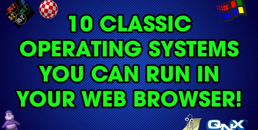 10 Classic Operating Systems You Can Run in Your Web Browser
