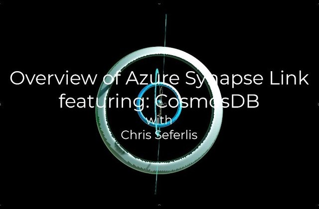 Overview of Azure Synapse Link featuring CosmosDB
