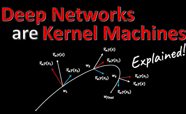 Deep Networks Are Kernel Machines